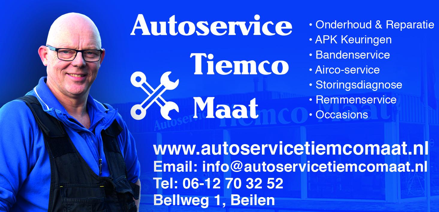 Autoservice Tiemco Maat